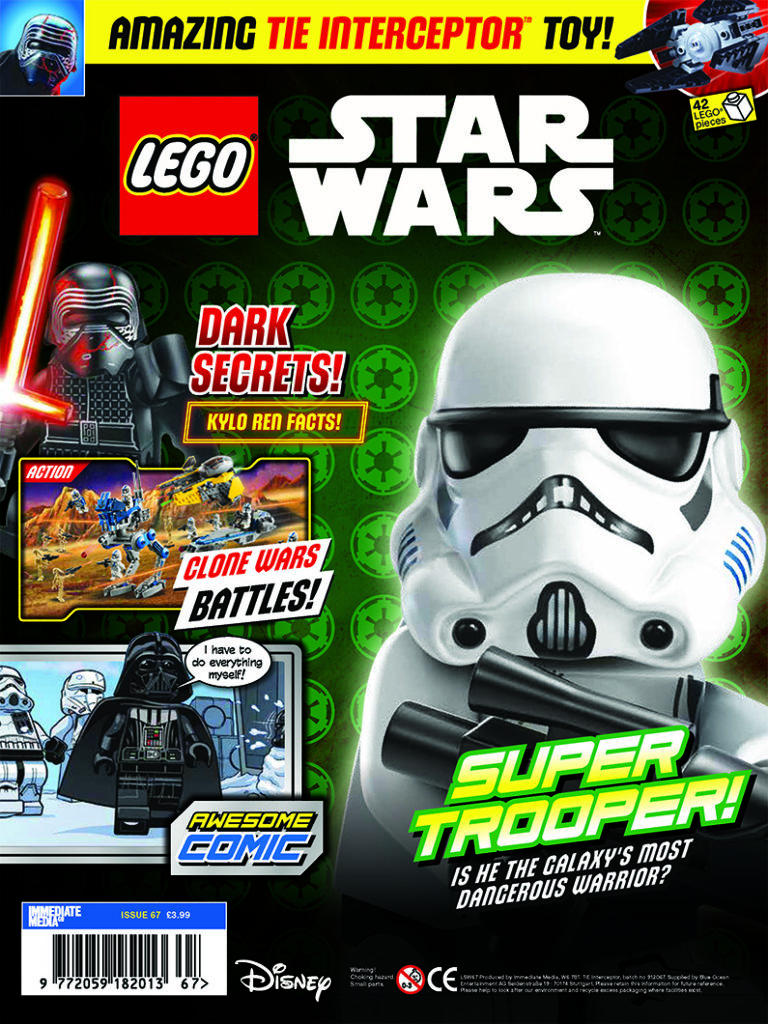 LEGO Star Wars magazine Issue 67 cover