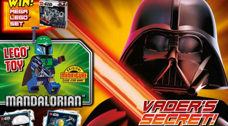 LEGO Star Wars magazine Issue 68 cover featured