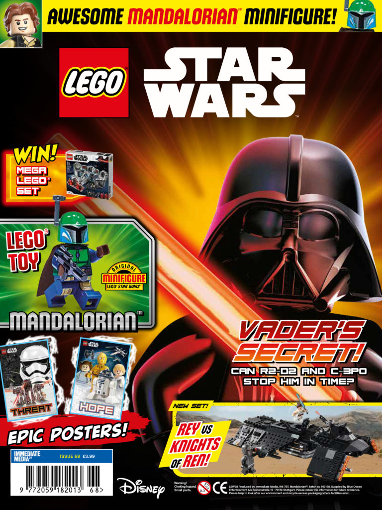 LEGO Star Wars Magazine Issue 68 Cover
