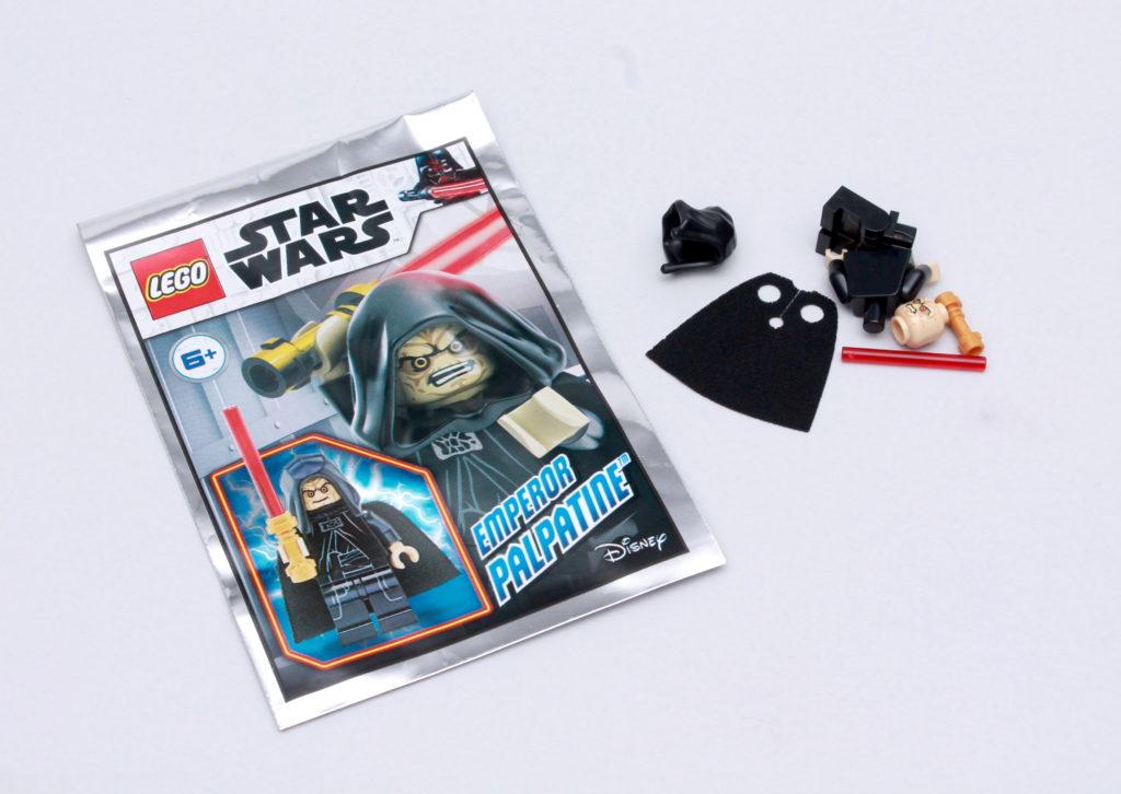LEGO Star Wars Magazine Issue 69 Emperor Palpatine 1