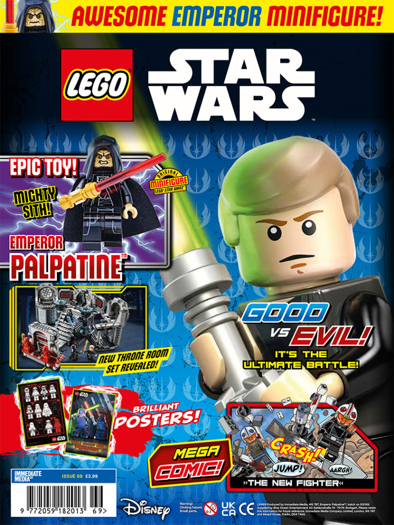 LEGO Star Wars Magazine Issue 69 Cover