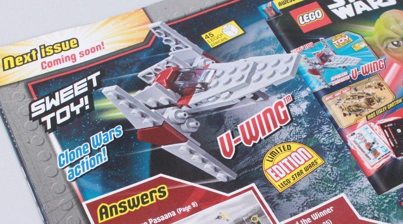 LEGO Star Wars magazine Issue 69 next month featured