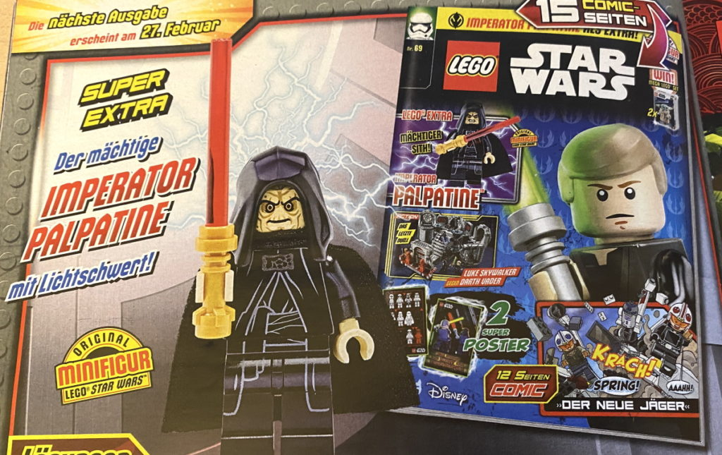LEGO Star Wars Magazine Issue 69 Preview