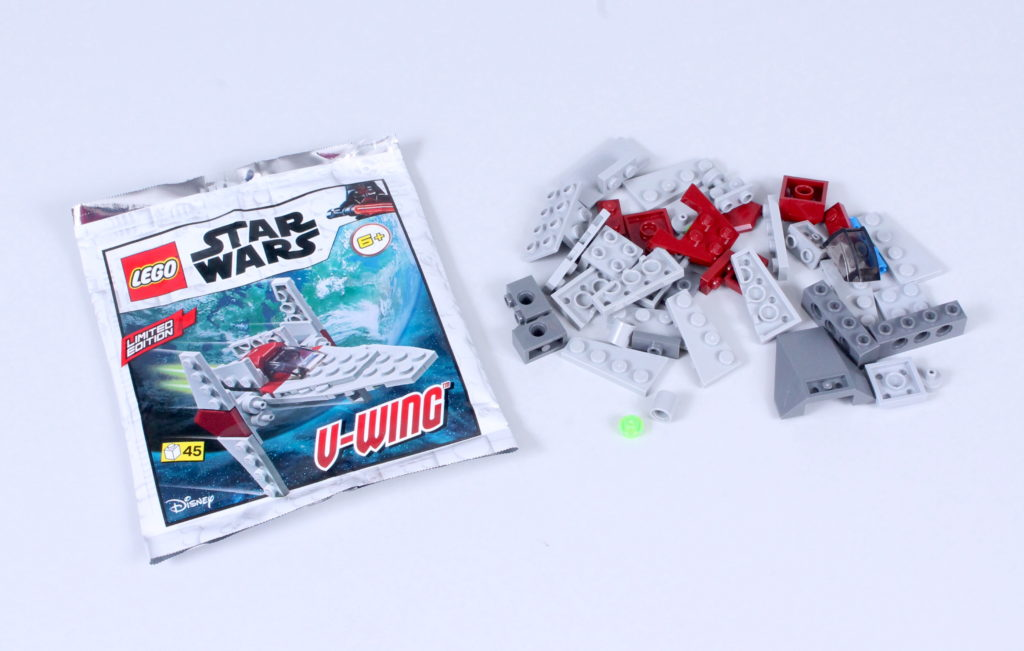 LEGO Star Wars Magazine Issue 70 V Wing 1
