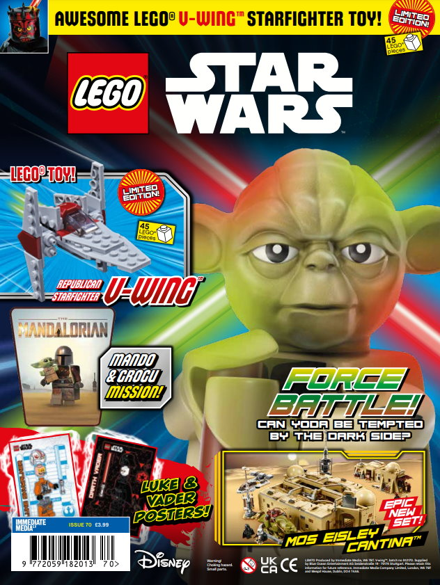 LEGO Star Wars Magazine Issue 70 Cover