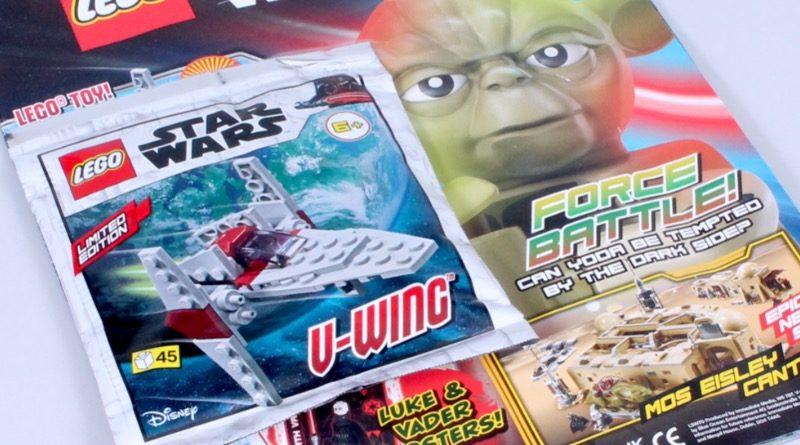 LEGO Star Wars magazine Issue 70 featured