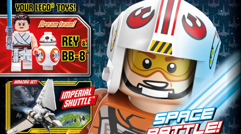 LEGO Star Wars Magazine Issue 73 Cover Featured
