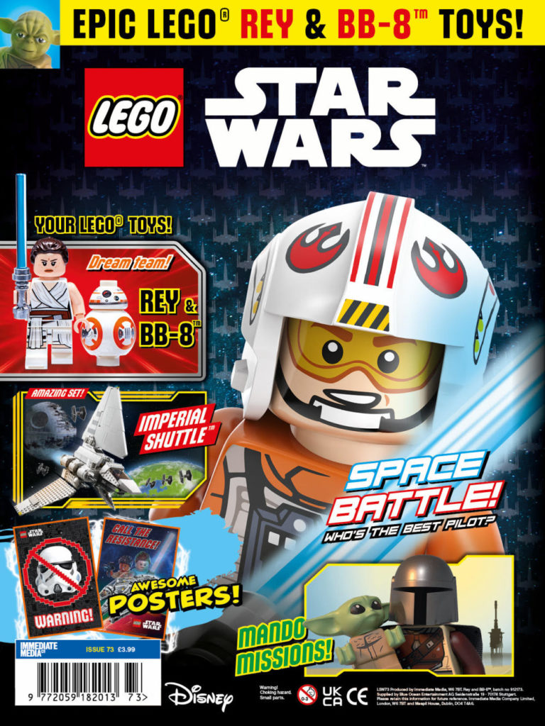 LEGO Star Wars magazine Issue 73 cover
