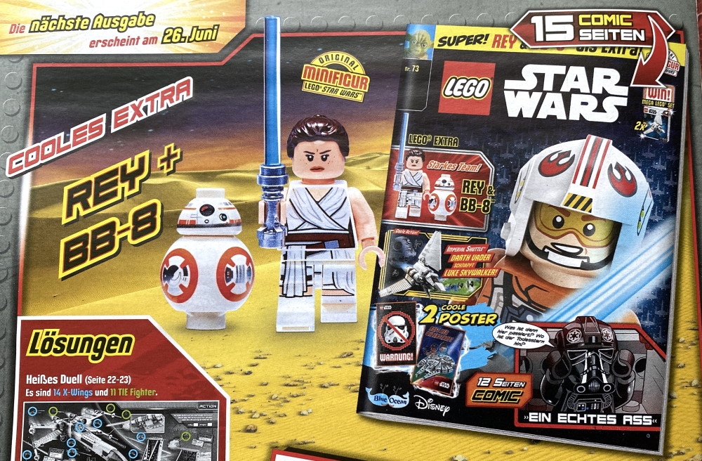 LEGO Star Wars magazine Issue 73 preview