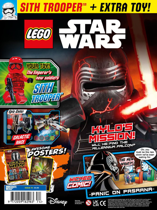 LEGO Star Wars magazine Issue 74 cover