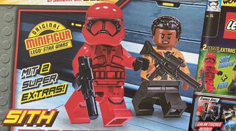 LEGO Star Wars magazine Issue 74 preview featured