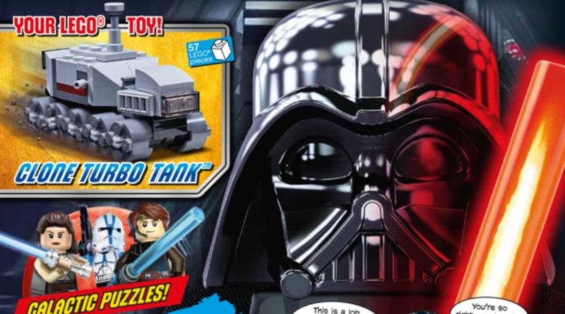 LEGO Star Wars magazine Issue 76 cover featured