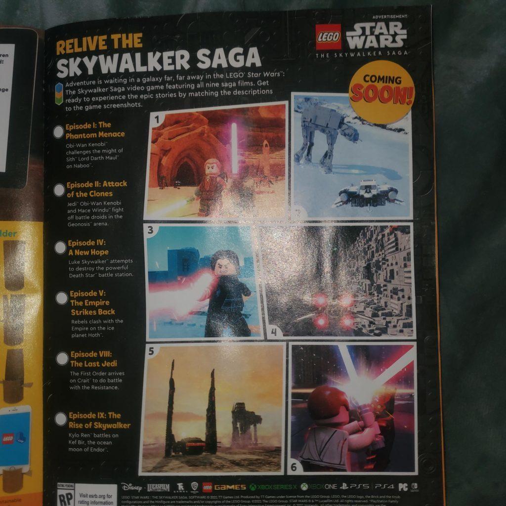 LEGO Star Wars Magazine LEGO Star Wars The Skywalker Saga 1024x1024