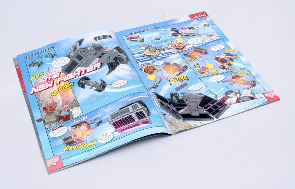 LEGO Star Wars magazine TIE Bomber tease 1 1