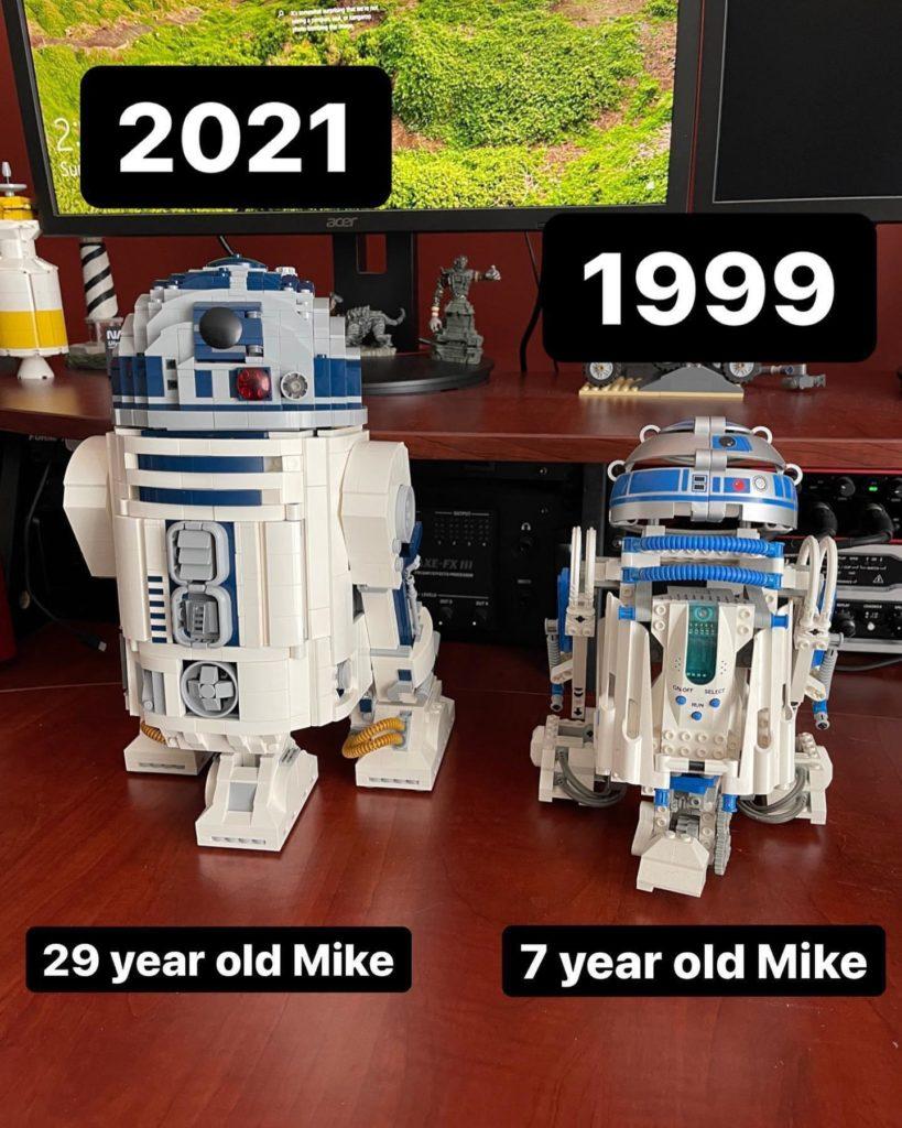 LEGO Star Wars r2 d2 sets comparison reddit