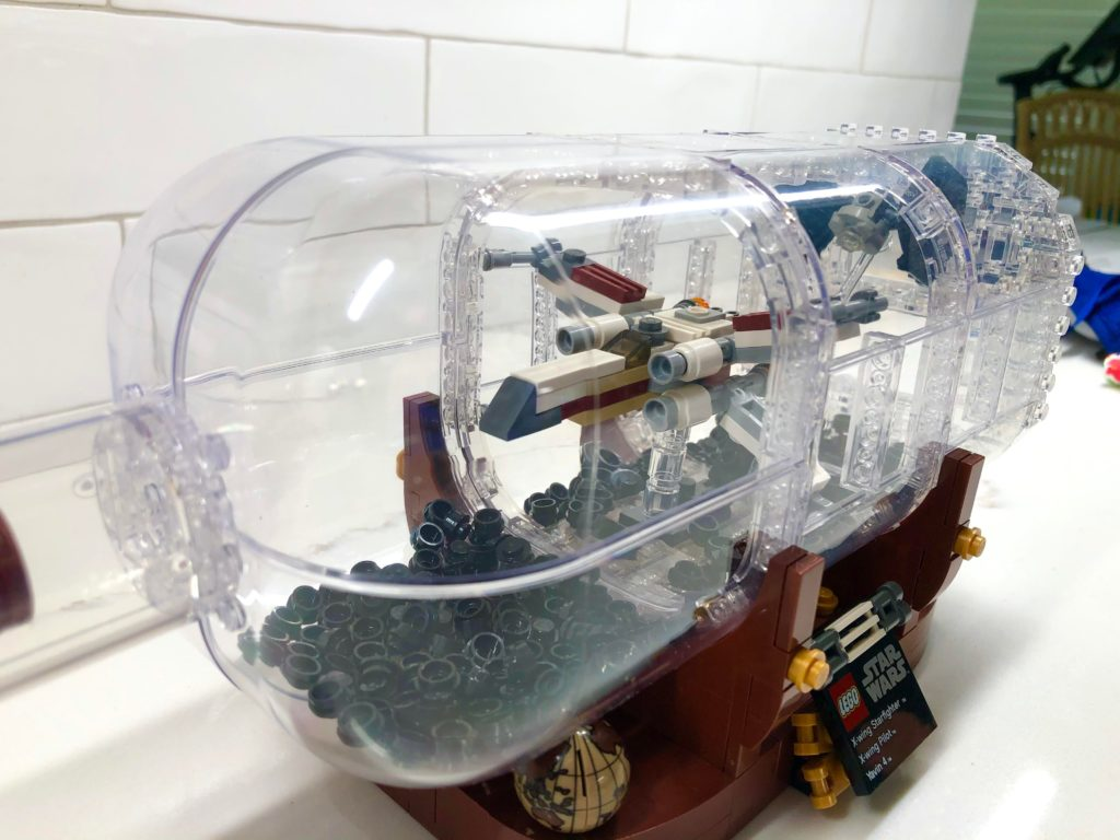 LEGO Star Wars Ship In A Bottle 2