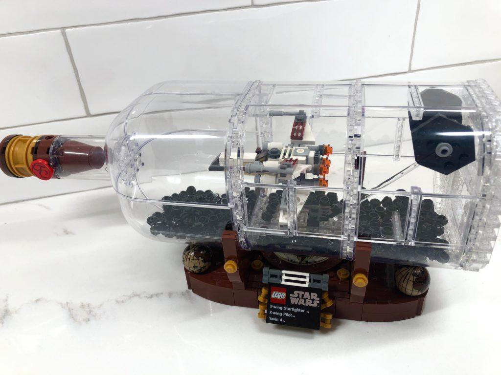 LEGO Star Wars Ship In A Bottle 4