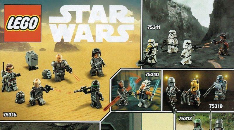 LEGO Star Wars summer 2021 minifigures featured