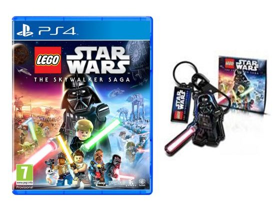 LEGO Star Wars The Skywalker Saga Key Ring Edited