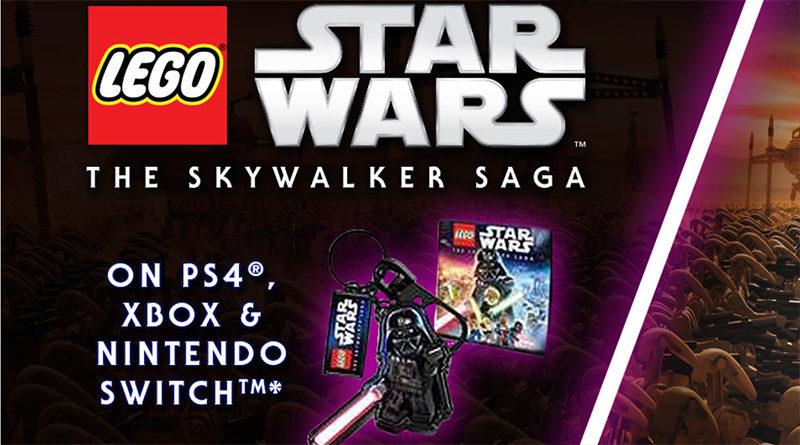 LEGO Star Wars The Skywalker Saga Key Ring Featured 800x445