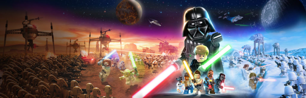 LEGO Star Wars Skywalker Saga ბიბლიოთეკის გმირი ახალი