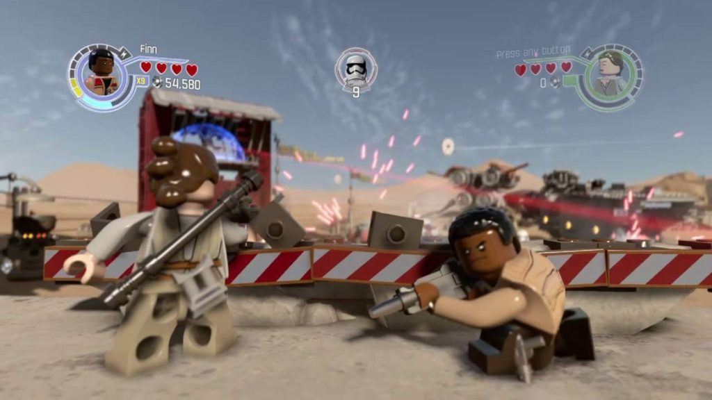 LEGO Star Wars The Force Awakens Game Blaster Combat
