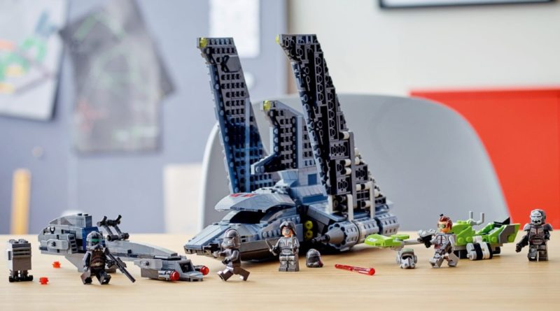LEGO commissioned a huge Star Wars: The Bad Batch model