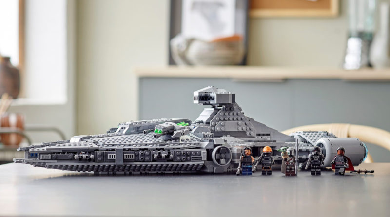 LEGO Star wars 75315 Imperial Light Cruiser lifestyle featured