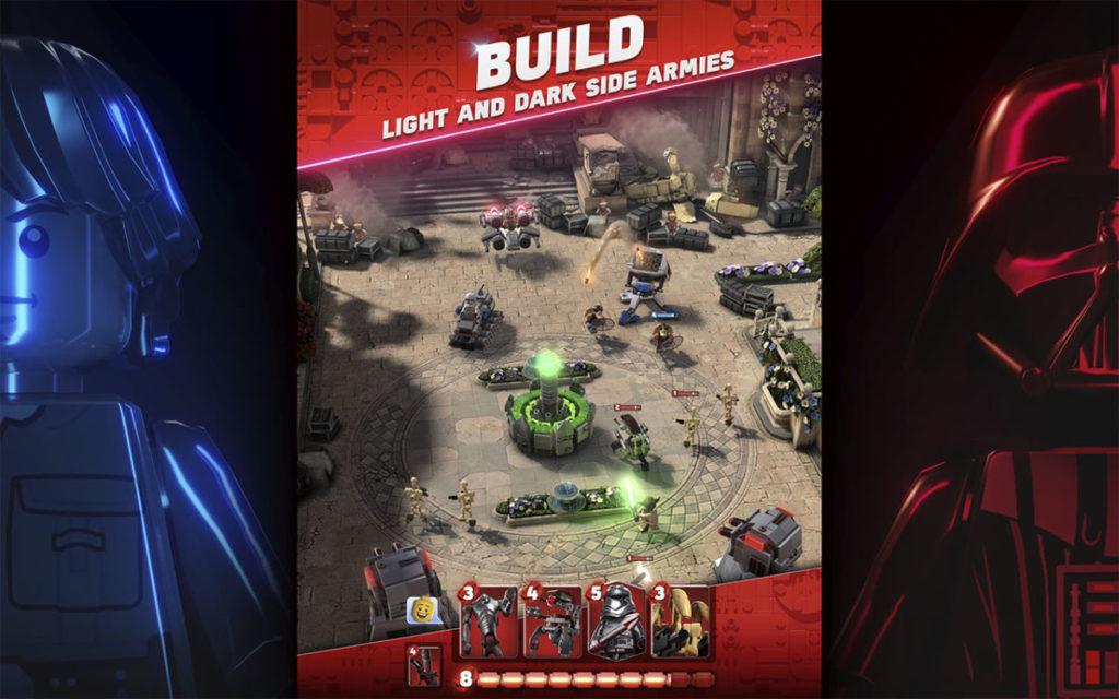 LEGO Star wars battles screenshot 1