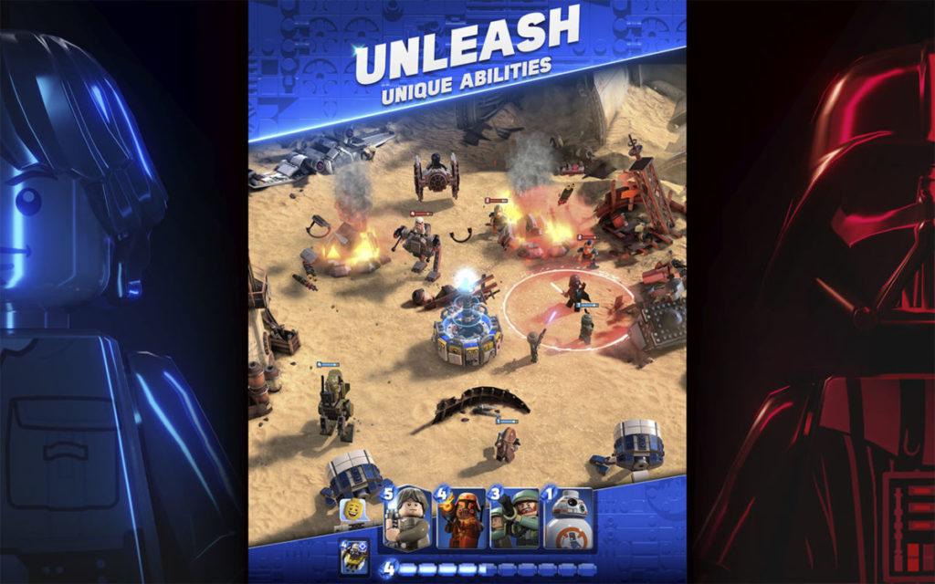 LEGO Star wars battles screenshot 4