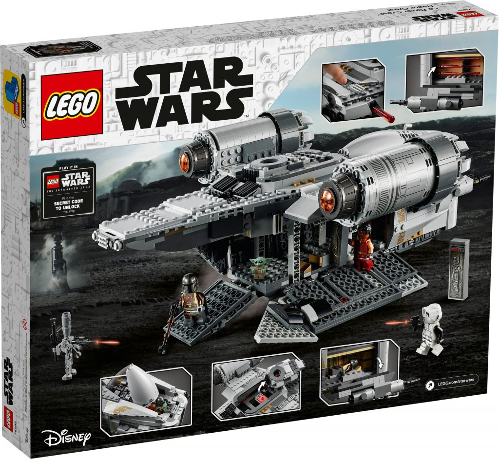 LEGO Star Wars 75292 The Razor Crest Box 2