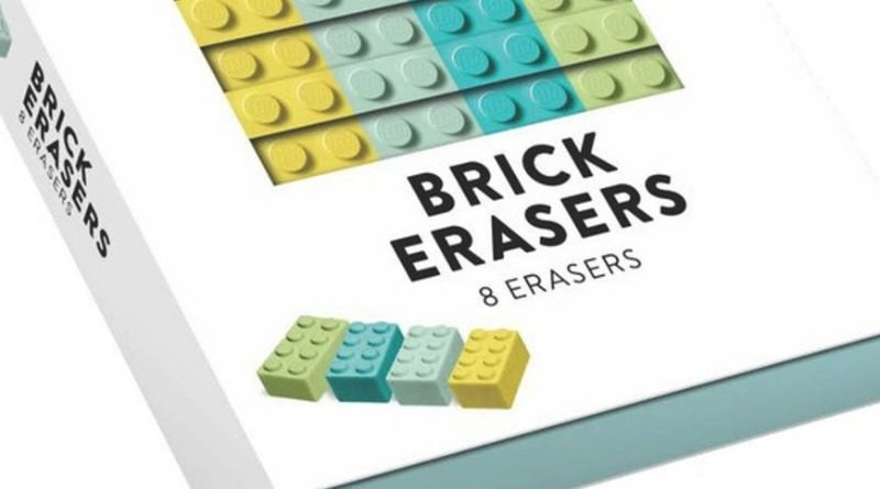 LEGO Stationery 5006201 Brick Erasers Featured 800x445