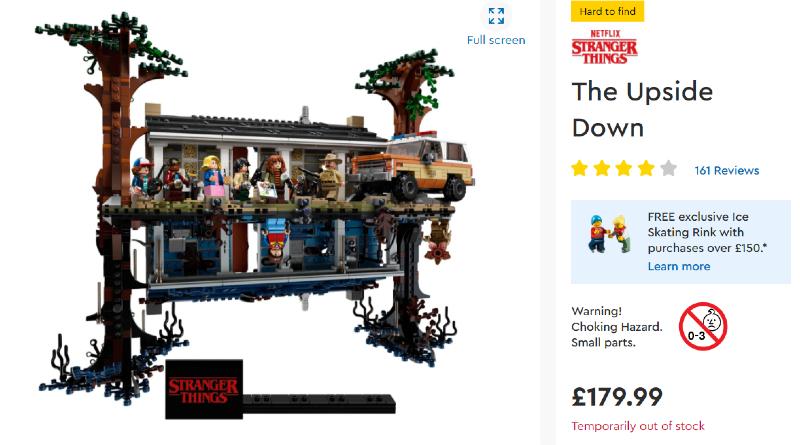 LEGO Stock Alert Reminder Featured