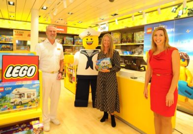 LEGO opens its first brand store on a cruise ship