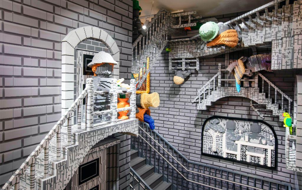 LEGO Store Amsterdam 1