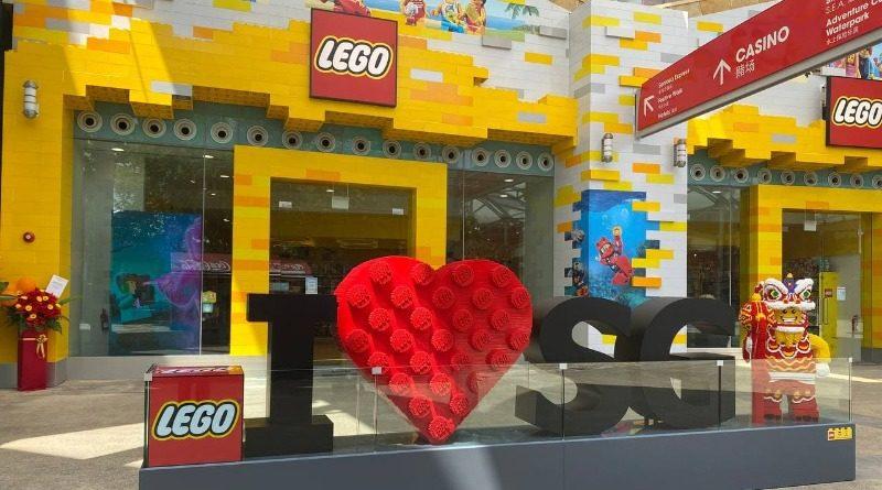 LEGO Store Sentosa