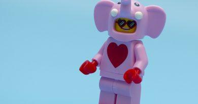 LEGO Valentine's Elephant