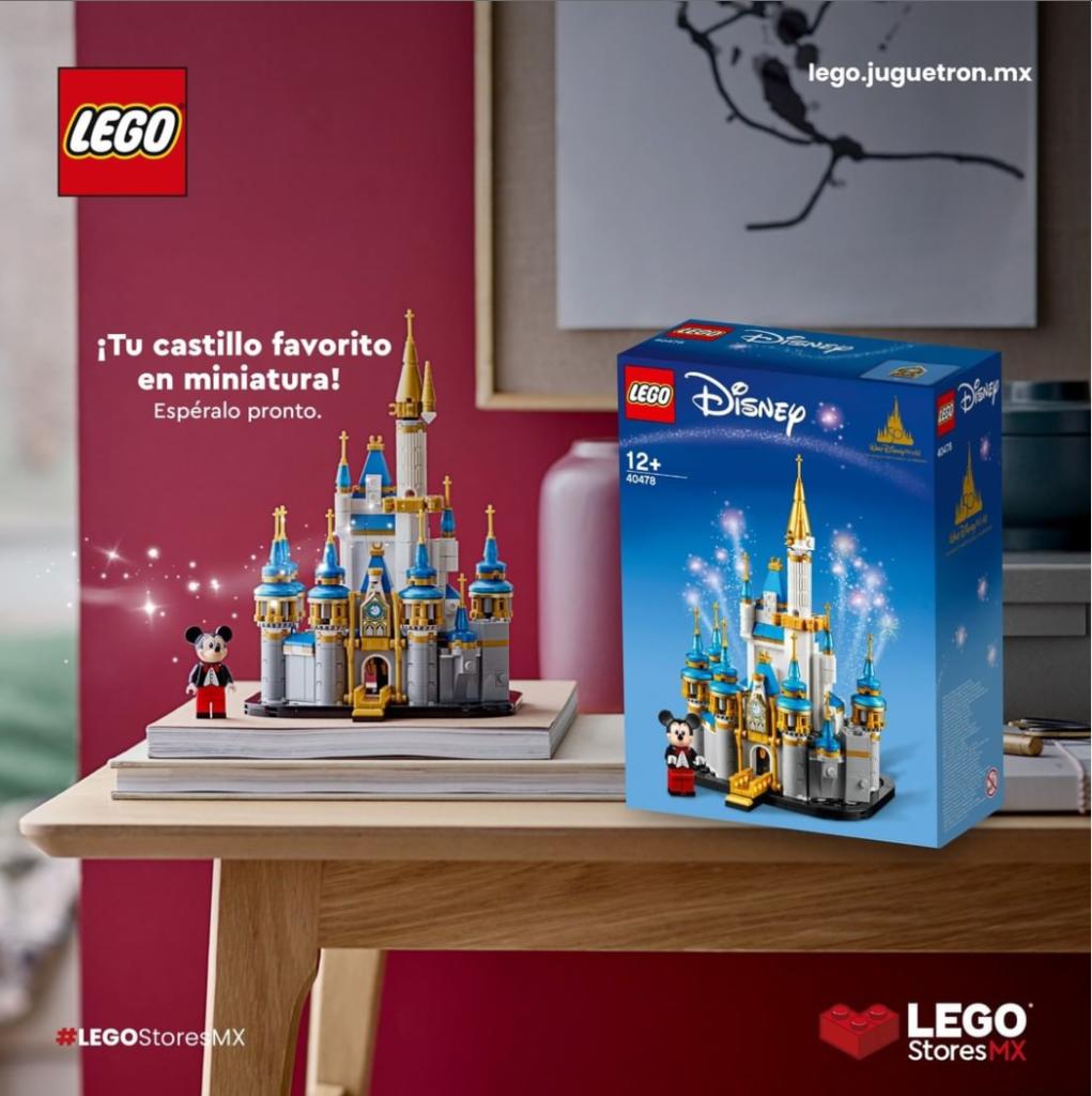 LEGO စတိုးမက္ကစီကို disney ရဲတိုက်