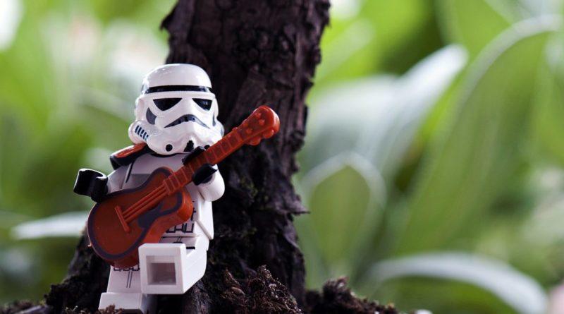 LEGO Stormtrooper guitar