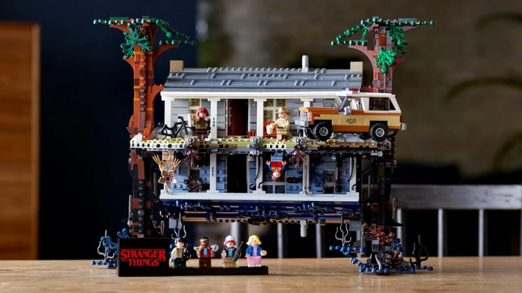 LEGO Stranger Things 75810 The Upside Down featured