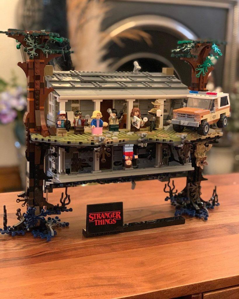 LEGO Stranger Things Jack Shepherd