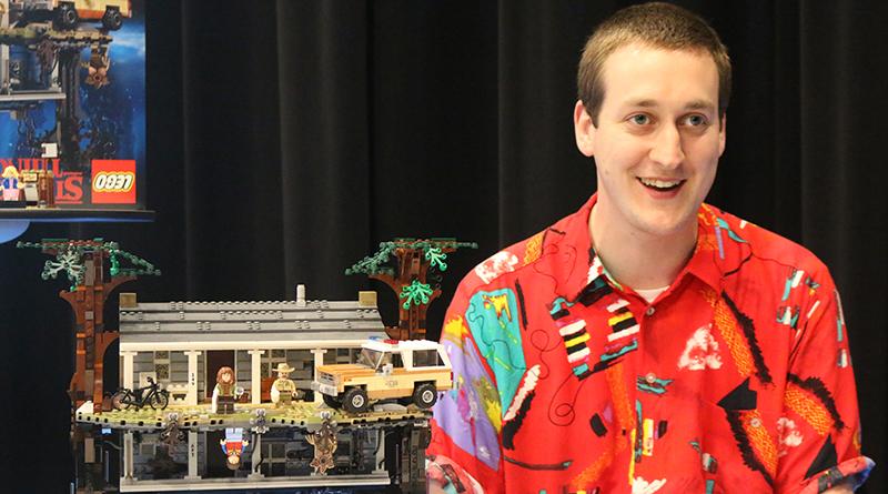 LEGO Senior Model Designer Justin Ramsden