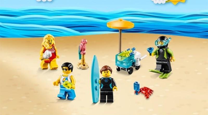 LEGO Summer Celebration Minifigure Set Featured