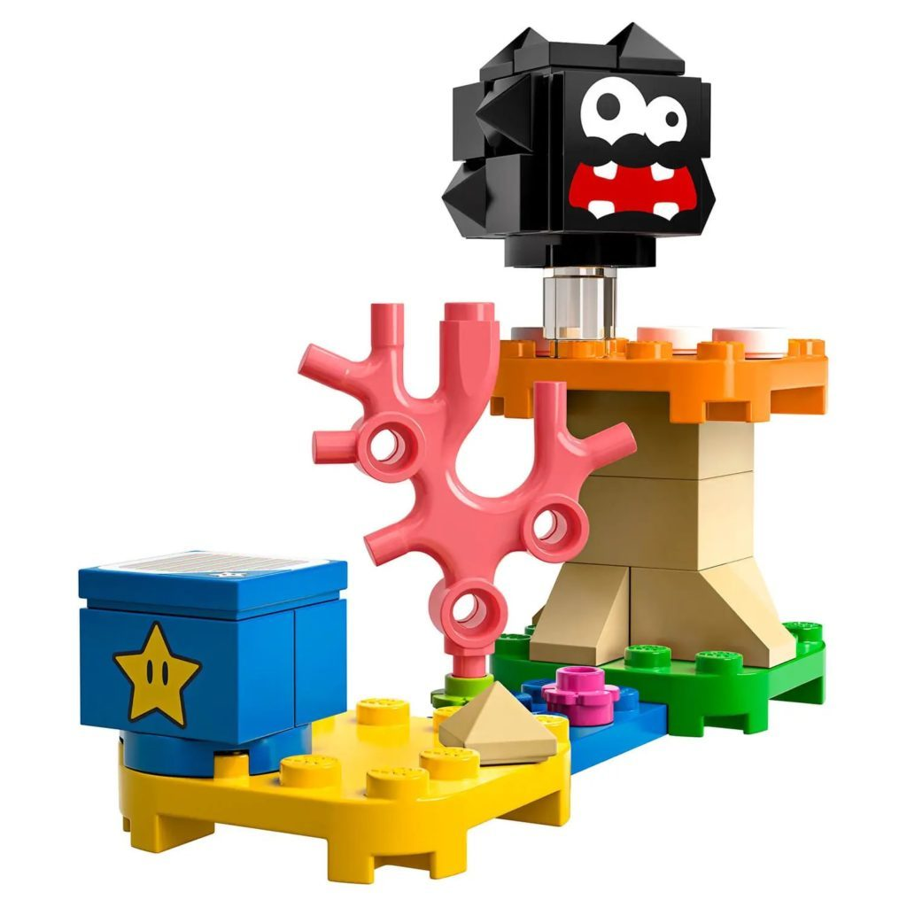LEGO Super Mario 30389 Fuzzy Mushroom Platform Expansion Set
