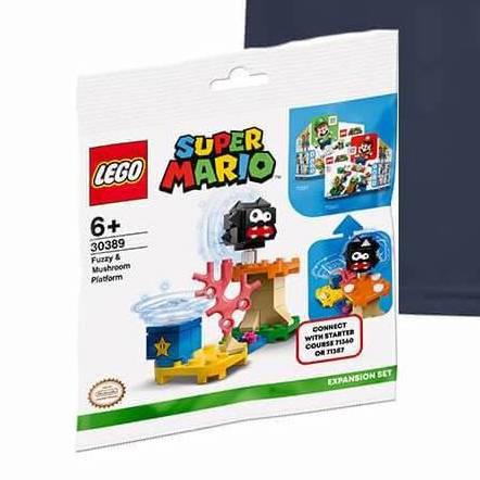 LEGO Super Mario 30389 Fuzzy Mushroom Platform