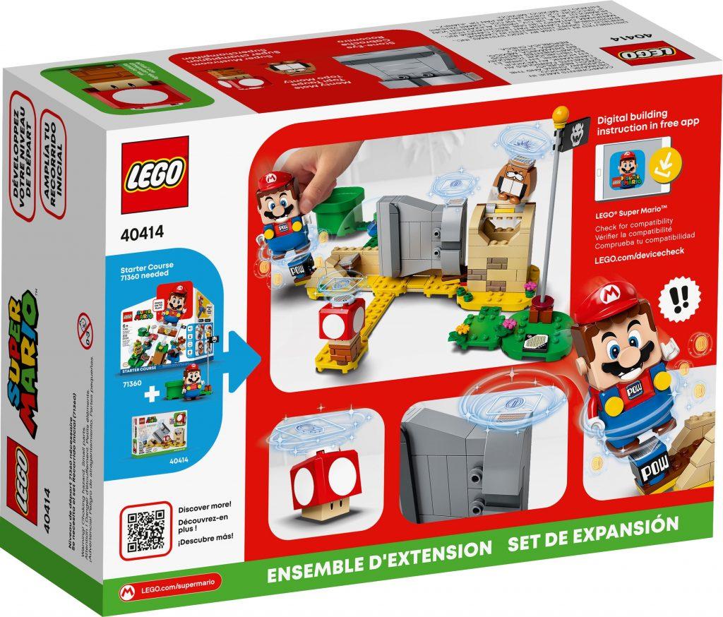 LEGO Super Mario 40414 Monty Mole Super Mushroom Expansion Set 2