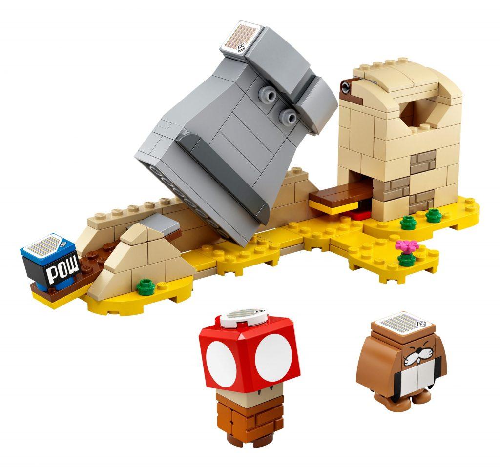 LEGO Super Mario 40414 Monty Mole Super Mushroom Expansion Set 3