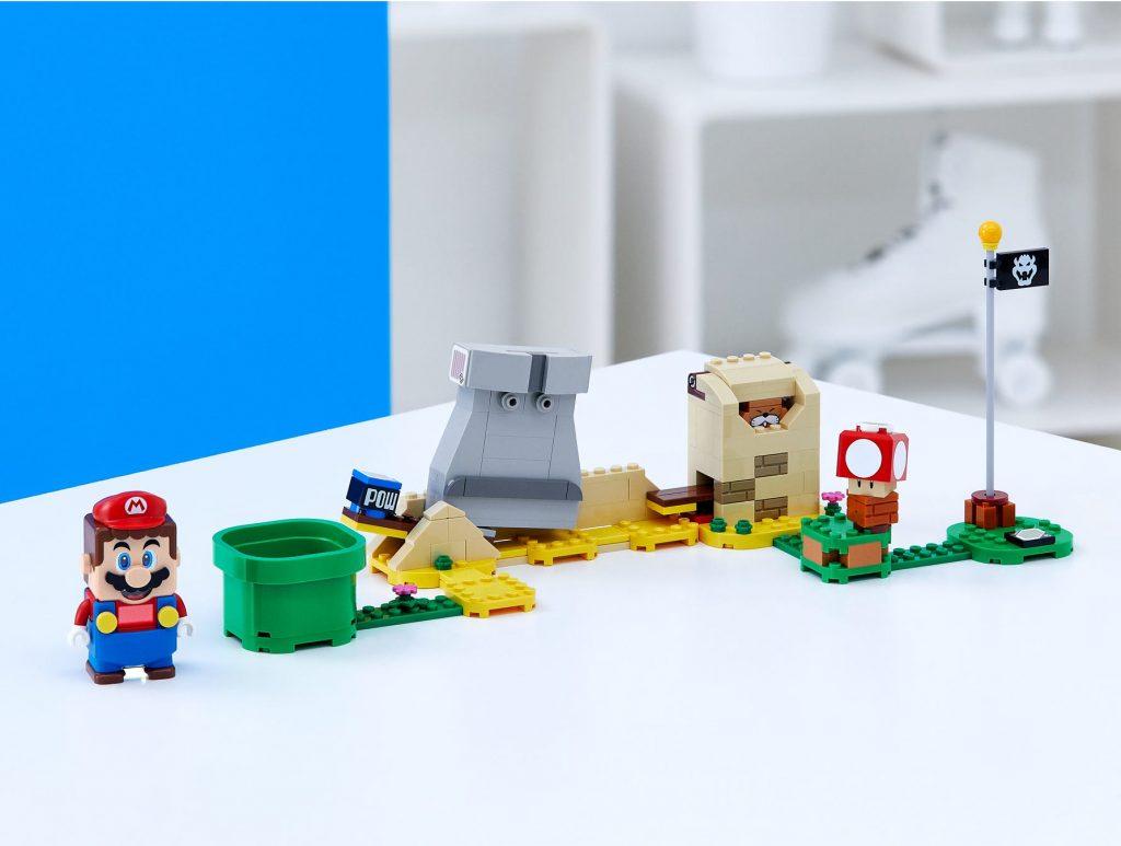 LEGO Super Mario 40414 Monty Mole Super Mushroom Expansion Set