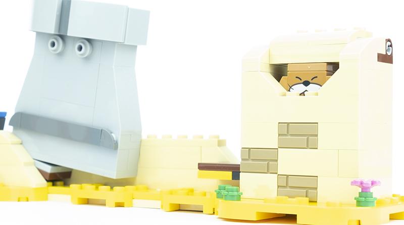 LEGO Super Mario 40414 Monty Mole Super Mushroom Featured