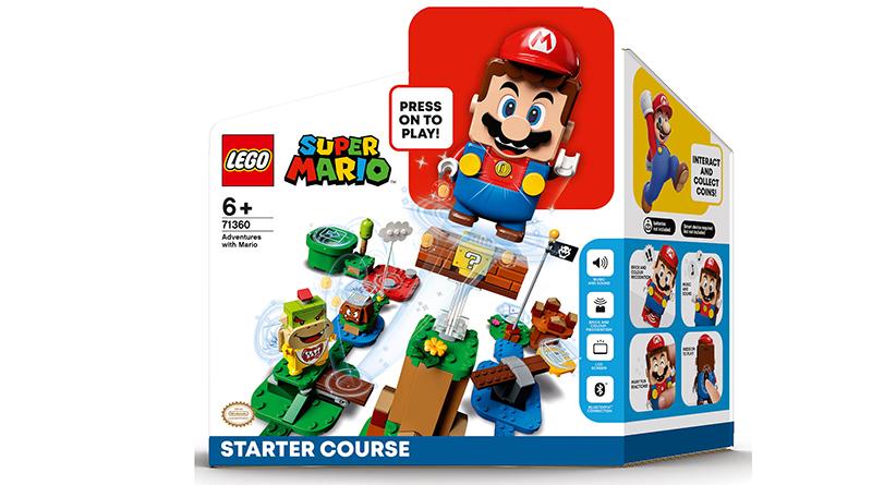 LEGO Super Mario 71360 Adventures With Mario Box Featured